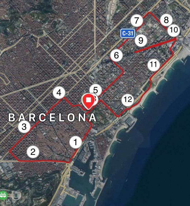 Barcelona Course