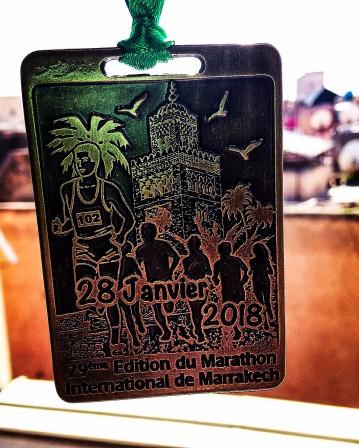 Stylish Marrakech medal